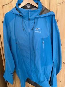 ARCTERYX BETA LT Edel GoreTex Hybrid Hardshell Jacket Jacke Regenjacke XXL blau