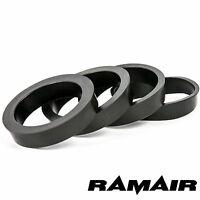 4 X RAMAIR REDUCING RINGS - 90MM AIR FILTER NECK - RUBBER 85MM 80MM 75MM 70MM