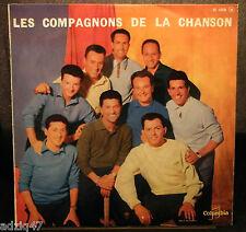 ☺ 33 T VINYL 25 cm - LES COMPAGNONS DE LA CHANSON - GONDOLIER - COLUMBIA