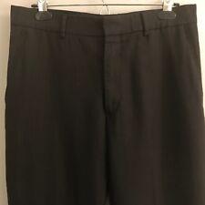 Banana Republic Mens Gray Striped Dress Pants - Size 31 x 30 - Flat Front - $79