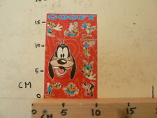 STICKER,DECAL SHEET WITH STICKERS DISNEY INTRODUCT GOOFY 2