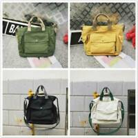 Women Ladies Travel Handbag Canvas Tote Purse Large Shopping Bag Shoulder Bags S