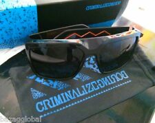 CriminalizeBoring CZB Sunglasses #16 Black Grey Gold Made in Italy Carl Zeiss