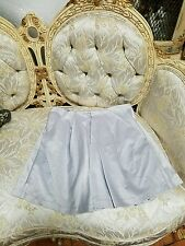 Mango  PLEATED SKIRT Size Medium Gray Silver Forever 21 style