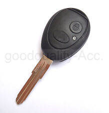 Replacement 2 button remote fob case with uncut key For Land Rover Discovery
