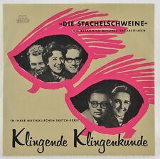 "7"" DIE BERLINER STACHELSCHWEINE - Klingende Klingenkunde - DGG - 006001"