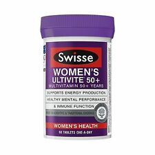 SHORT EXP 08/2018 Swisse Women's 50+ Years Ultivite 60 Tablets ONE-A-DAY