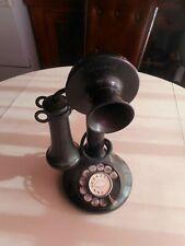 Antique Kellogg Candlestick Telephone