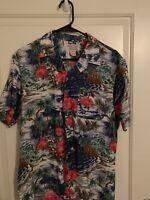 Vintage 1950s Hawaiian Shirt Rayon