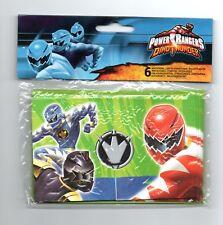 Power Rangers Dino Thunder Invitations - Pack of 6 Invites with envelopes