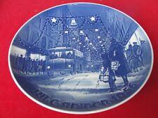 1956 BING GRONDAHL COPENHAGEN PLATE TOWN COPENHAGEN