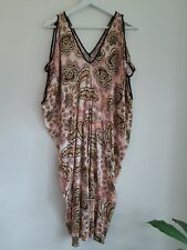 Katies Ladies Casual Summer Dress Size 8 Excellent Condition 100% Viscose