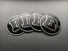 4x 65mm Brabus Sticker Stickers Decal Badge For Center Caps Hub Cap Wheel Rim Ca