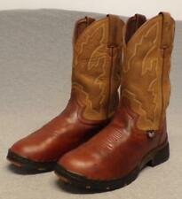 Justin Western Cowboy Leather Dress Riding Casual boots women's size 6.5 M
