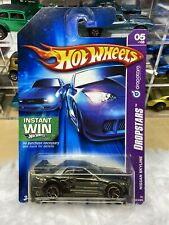 hot wheels nissan skyline gt-r r34 Vintage Toys Diecast Error Unspun