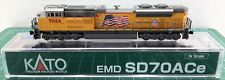 N Scale KATO SD70ACe 'Union Pacific' Road #9066 DCC Ready Item #176-8521