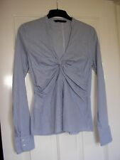 Zara Hip Length Blouses Fitted Tops & Shirts for Women