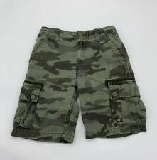 Levi's Boy Cargo Shorts Sz 6 Camouflage Kids Bermuda Cotton Adjustable Waist