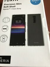 Roxfit Sony Xperia 1 Precision Slim Soft Shell Rear Phone Case Back Cover Clear