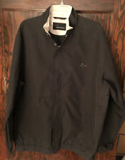 Greg Norman Jacket Men's Size Xl Long Sleeve Black Full Zip Golf