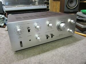 SANYO DCA 1001 VINTAGE CLASSIC  INTEGRATED AMPLIFIER PHONO