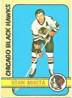 1972-73 Topps Hockey Stan Mikita Chicago Black Hawks Card #56