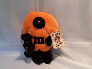 "Boyds Bears M&Ms Plush Halloween Peekers CAT ""TRIXIE"" w/Trick or Treat Bag - EC"