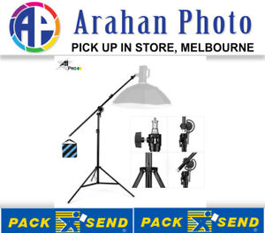 A1Pro 3.2M Medium Duty Light Stand with Integrated Boom Arm