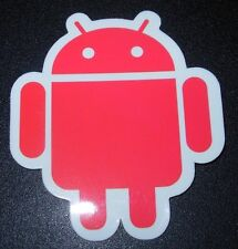 "ANDROID DROID Redbot robot logo Sticker 2.5"" Google andrew bell"