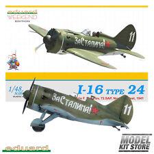 I-16 Type 24 - 1/48 Weekend Edition Eduard Aircraft Model Kit #8468