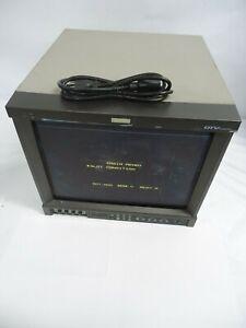 GOOD UNIT JVCDT-V1710CG Multi-Format Color HDTV/SDTV Video Monitor