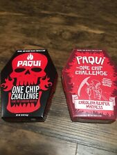 2 x paqui carolina reaper madness one chip challenges (2 chips)