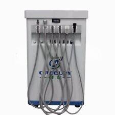 Dental Mobile Cart Delivery Unit With Compressor+Scaler+Curing Light+Syringe LMW