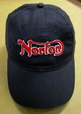 Norton Motorcycle, Embroidered, Adjustable, Baseball Hat, 100% Natural Cotton