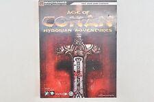 "Gros Livre Guide des strategie ""age of Conan Hyborian Adventures"""