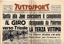 rivista TUTTOSPORT - 05/06/1960 N. 157 IL GIRO VERSO TRIESTE - JUVENTUS