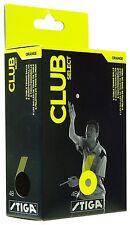 Table Tennis Balls: Stiga Club Select Celluloid Training Ball  x 72 Balls