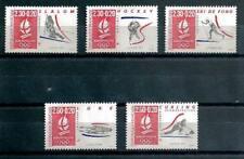 France 1991 Jeux Olympiques Albertville Yvert n° 2676 à 2680 neuf ** 1er choix