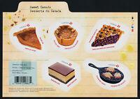 Canada 3177 MNH Food, Sweet Canada Desserts