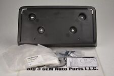 2010 2013 Buick Lacrosse Front LICENSE Plate Mounting Bracket OEM New W/Hardware