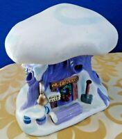 Disney Winnie The Pooh Snow Village House Mr Sanders Treehouse