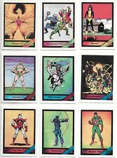1987 Comic Images Marvel Universe 1- Card Singles