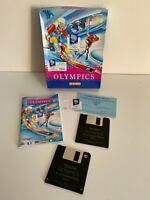 "Winter Olympics Lillehammer 94 Big Box PC Game - 3.5"" Floppy Disc - Good Cond."