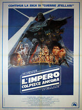 Original Movie Poster 100x140 Star Wars - L'impero Colpisce Ancora