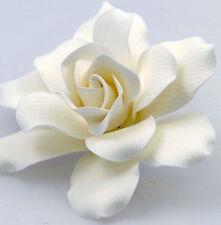 Large White Gardenia Sugar flower wedding birthday cake decoration topper