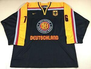 Germany Hockey Matthias #76 Nike Jersey SizeXL