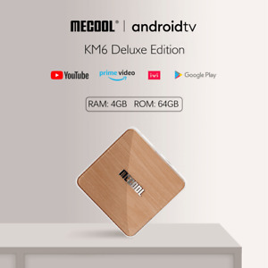 MECOOL KM6 DELUXE Smart Android 10.0 TV-Box 4+64GB S905X4 2,4/5G WiFi BT5.0 Y9G3