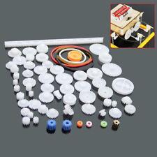 60 Stück Kunststoff Zahnräder Getriebe set Zahnräder Roboter Modell Zubehör DIY