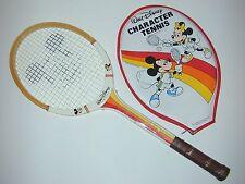 "Walt Disney Mickey Mouse ""Mouse-Ka-Masters"" Junior Pro Vintage Tennis Racquet"