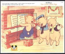 St.Vincent 1992 Disney/Pigs/Piano/Music/Singing/Cartoons/Film/Cinema  m/s (b414)